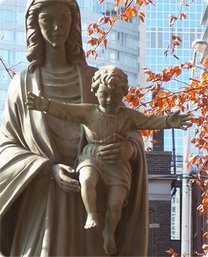 Took this down at St. Michael's Cathedral, Toronto... several years ago..