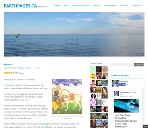 Earthpages.ca - Think Free