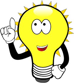 Anthropomorphic-Cartoon-Light-Bulb
